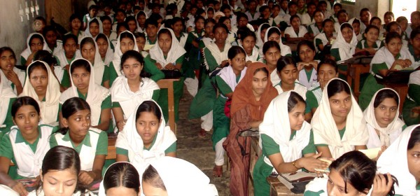 school orientation at Banshkhali