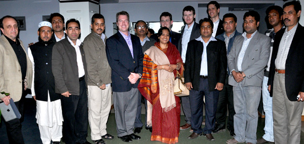 USA delegation team with Ms. Chemon Ara Begum MP