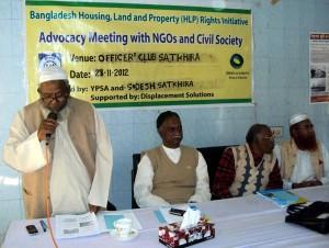 Advocacy Meeting in Satkhira