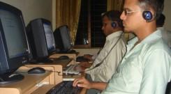 Computer training at IRCD