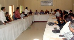 Participants in the meeting