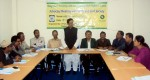 Mr. Shekh Harunur Rashid, Administrator of Khulna District & former chief in the meeting