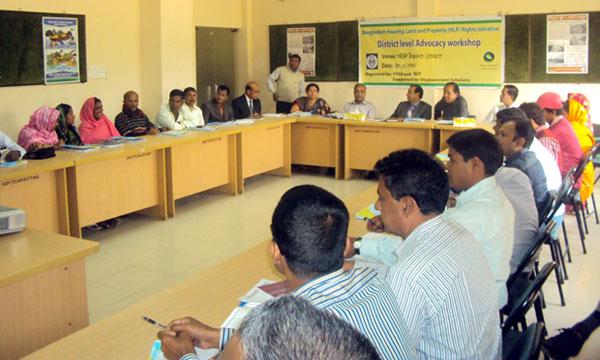 Participants of Advocacy workshop