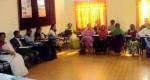 Participants in the meeting at kurigram