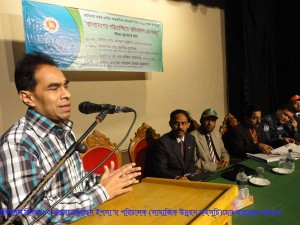 Md. Mahbubar Rahman, Director (Program), YPSA spoke in the program