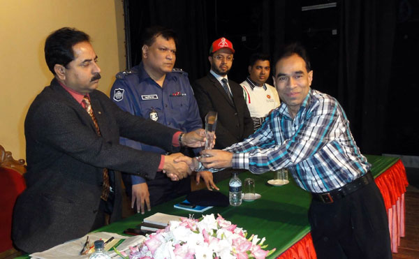 Crest given ceremony