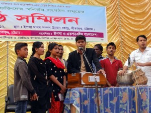 Cultural program in the convention