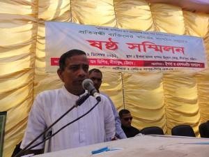 Mr Babul Devnath President of Federation of DPOs Sitakund