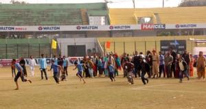 Children PWDs attempt to run