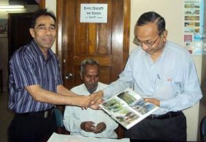 Mr. Khurshedul Islam, Convener of US Progressive Forum and Mr. Mahbubur Rahman, Director social development, YPSA