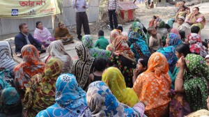 YPSA organized Yard Meeting to raise awareness among the women in the villages of Sitakund and Mirsharai