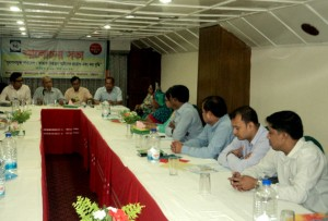 Meeting titled ' Tobacco Control and Tax increase' held in CTG