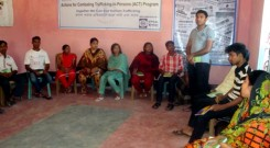 Training workshop at Shanta Niloy Shelter Home organized by YPSA