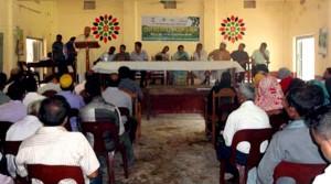 Baraydala National park co-management council assembly
