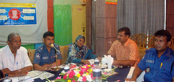 YPSA organized Critical Engagement Meeting with the Law & Enforcement Authority at Feni