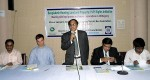 Md. Kamal Uddin, Secretary of Chittagong Bar Association addressing