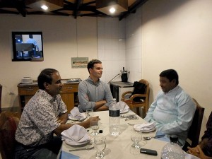 YPSA team with Mr. Al-Haj Jafrul Islam Chowdhury MP 292 Chittagong-15, Bangladesh Parliament