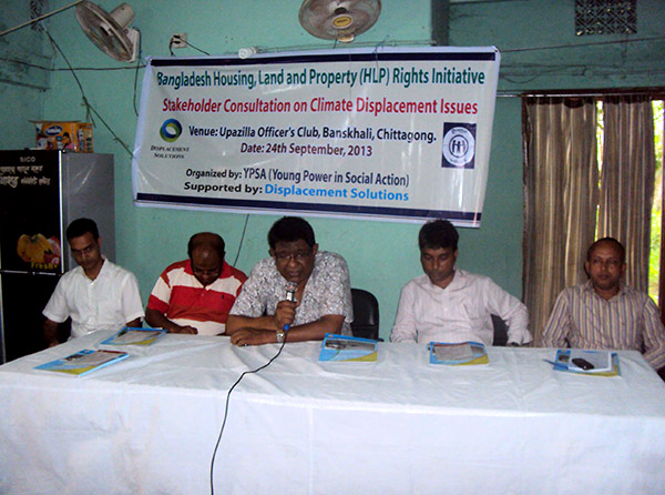 Stakeholder Consultation on Climate Displacement Issues at Banskhali Upazilla