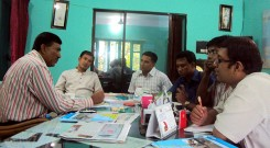 Meeting with Mr. Baker Bhuiyan (Chairman of Sitakunda Upazilla )