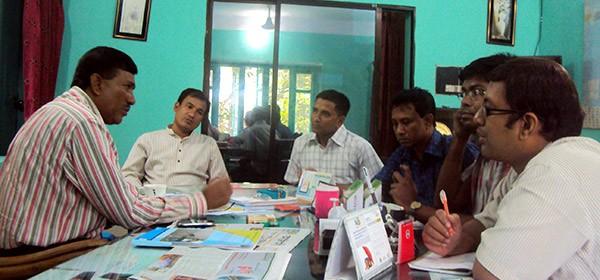 Meeting with Mr. Baker Bhuiyan (Chairman of Sitakunda Upazilla )