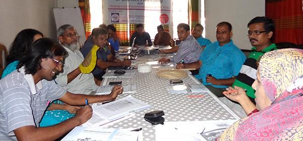 Meeting at UNINIG office in Dhaka