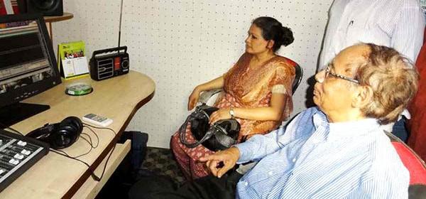 Studio of Radio Sagor Giri