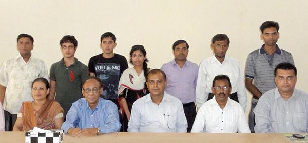 Group photo at YPSA HRDC Sitakund Campus