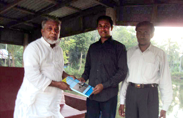 One to one advocacy with Mr. Mostafa Kamal Pasa, Member of Parliament of Sandwip