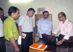Md. Nurun Nabi Talukder visiting YPSA's IRCD