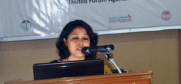 Nasim Banu, Team Leader, Smoke Free Project of YPSA