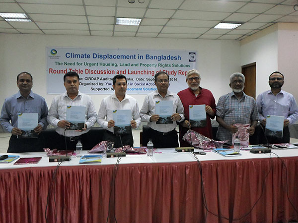 Roundtable Discussion and Launching of Mapping reportat at CIRDAP, Dhaka