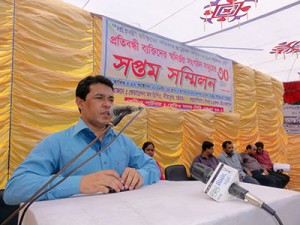 Speach by Muhammad Shahin Imran, UNO of Sitakund