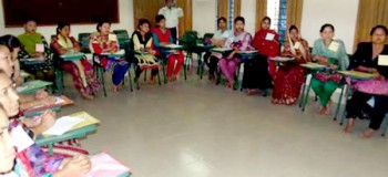 Participants of the teachers training workshop