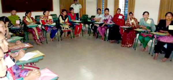 Participants of the teachers training workshop