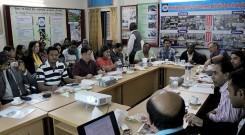 ICTPD-2014A batch attends a meeting