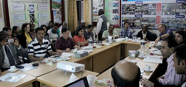 ICTPD-2014A batch attends a meeting