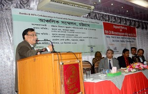 Chittagong Regional conference on Banks and MFIs Collaboration in Sustainable Development of Special Zones