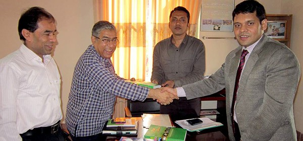 Country Director of Engender Health Bangladesh Dr. Abu Jamil Faisel meets Additional Deputy Commissioner (General) Chittagong