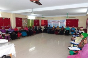 Workshop at Chakaria
