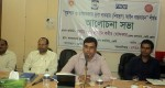 Enamul Hoque, Additional Divisional Commissioner of Feni Distract addressing in the meeting