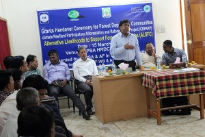 Grants Handover Ceremony for the Forest Dependent Communities organized by YPSA