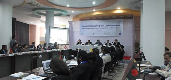 YPSA participated in the Nansen Initiative Regional Consultation in South Asia held in Khulna, Bangladesh