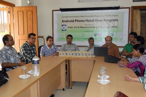 Android phones hand over program