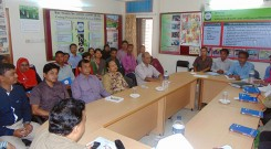 Meeting at YPSA Head Office, Chittagong