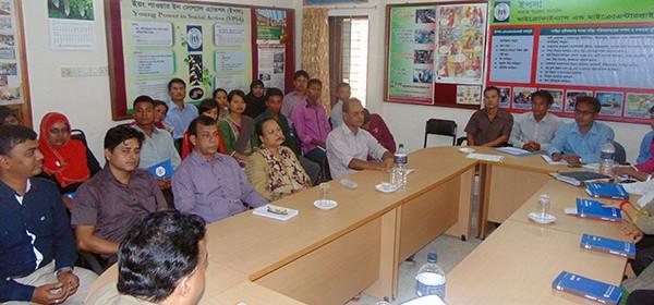 Meeting at YPSA Head Office, Chittagong