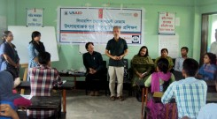 Youth leadership Training workshop at Mayani Union of Mirsarai Upazila