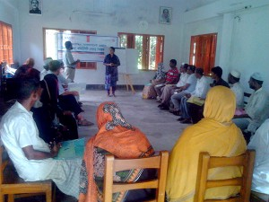 Community Leadership Training workshop at Wahedpur union of Mirsharai