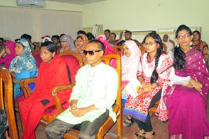Students including PWDs