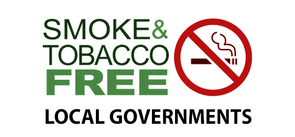 Collage: Smoke Free local government