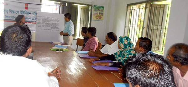 UP orientation workshop at Mirsarai